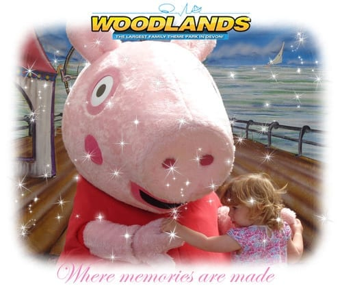 Devon Day Out Peppa where memories are made.