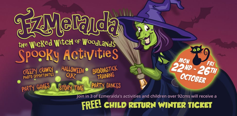 Ezmerlda Spooky Activities - Halloween 2018 - Halloween events in Devon